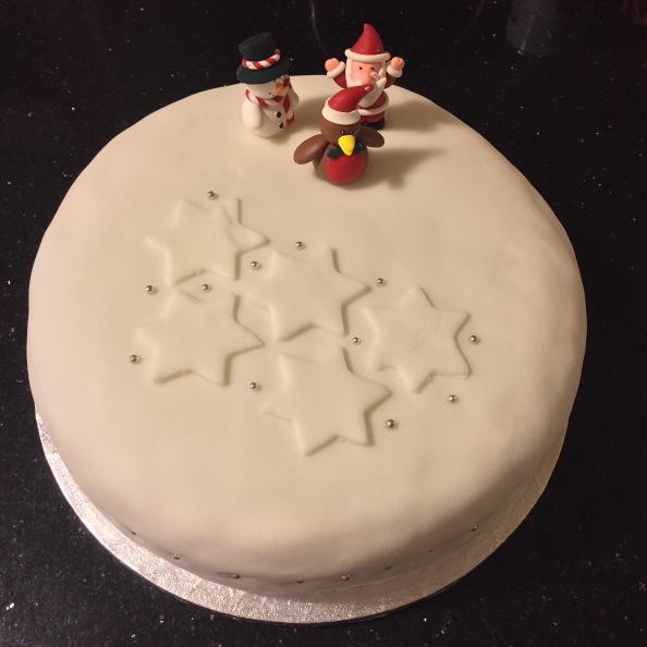 Aga Christmas Cake